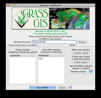 GIS on a Mac - aliquot