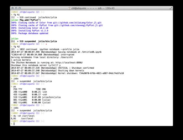 OS X Mavericks - aliquot